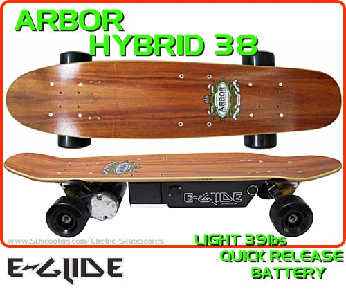 E-glide Shorty Electric Skateboard