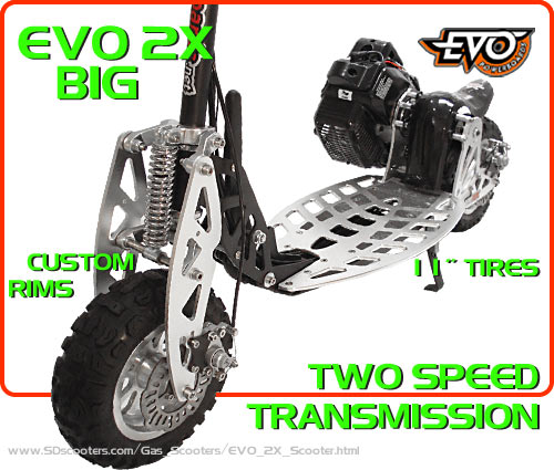 evo 2x Gas Scooter