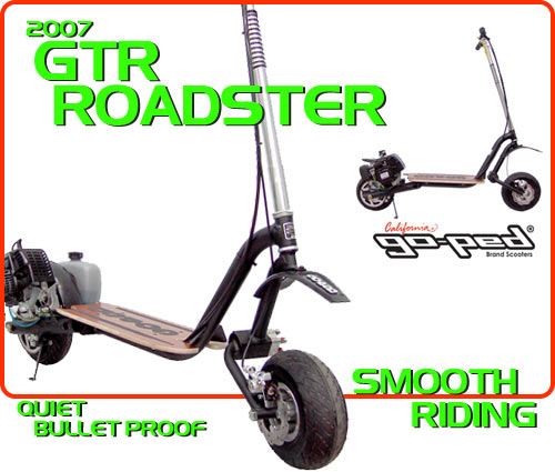 gsr roadster Gas Scooter