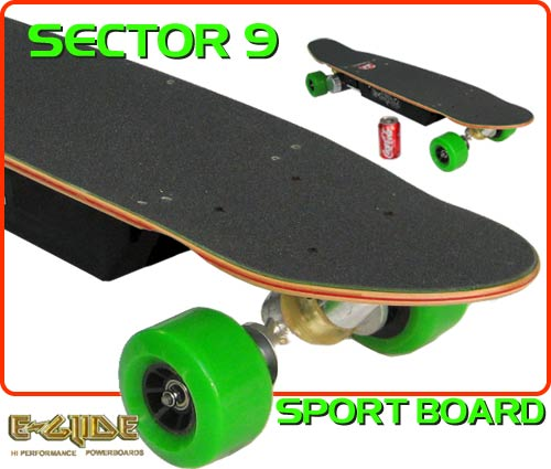 E-glide Sector 9 Electric Skateboard