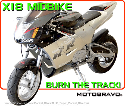 x18 Pocket Bike