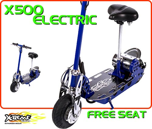 Amazon.com: X-Treme Scooters ~ Electric X-010 Foldable Stand Up