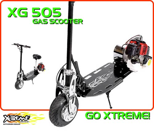 xg-505 Gas Scooter