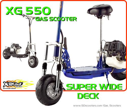 xg-550 Gas Scooter