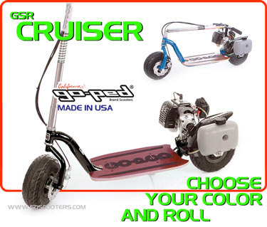 cruiser Gas Scooter