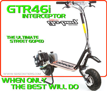 gtr46i Gas Scooter