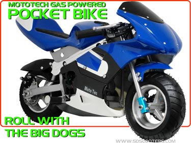 GP33 pocket bike. mototec gas pocket bike mtgp
