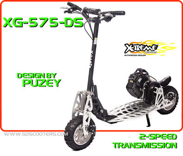xg-757 ds Gas Scooter