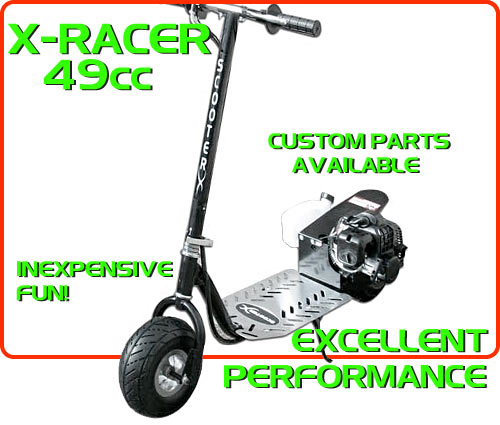 x-racer 49cc Gas Scooter