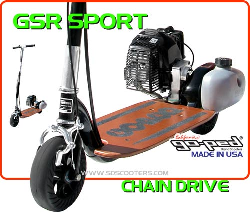 gsr sport Gas Scooter