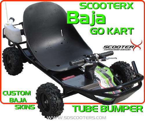 Scooterx baja go kart baja 49cc kids go kart sale get free scooterx baja go kart 49cc sciox Image collections