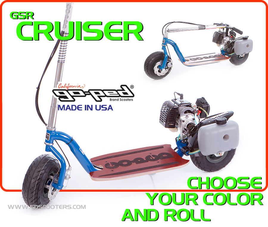 cruiser Gas Scooter large