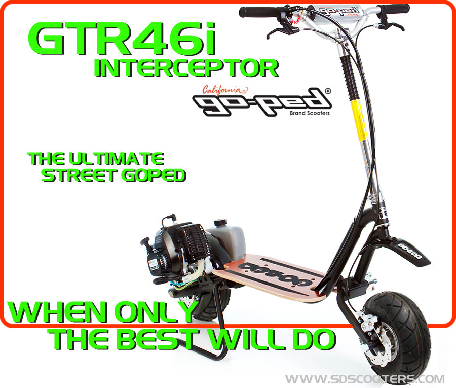 gtr46i Gas Scooter large