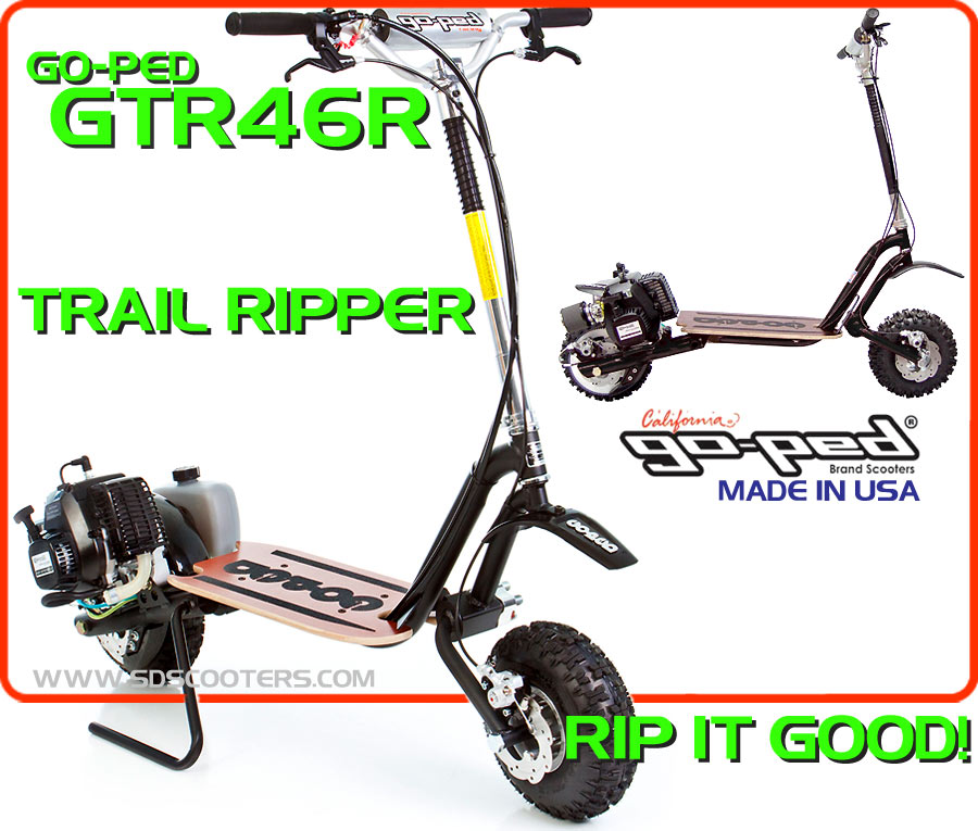 gtr46r Gas Scooter large