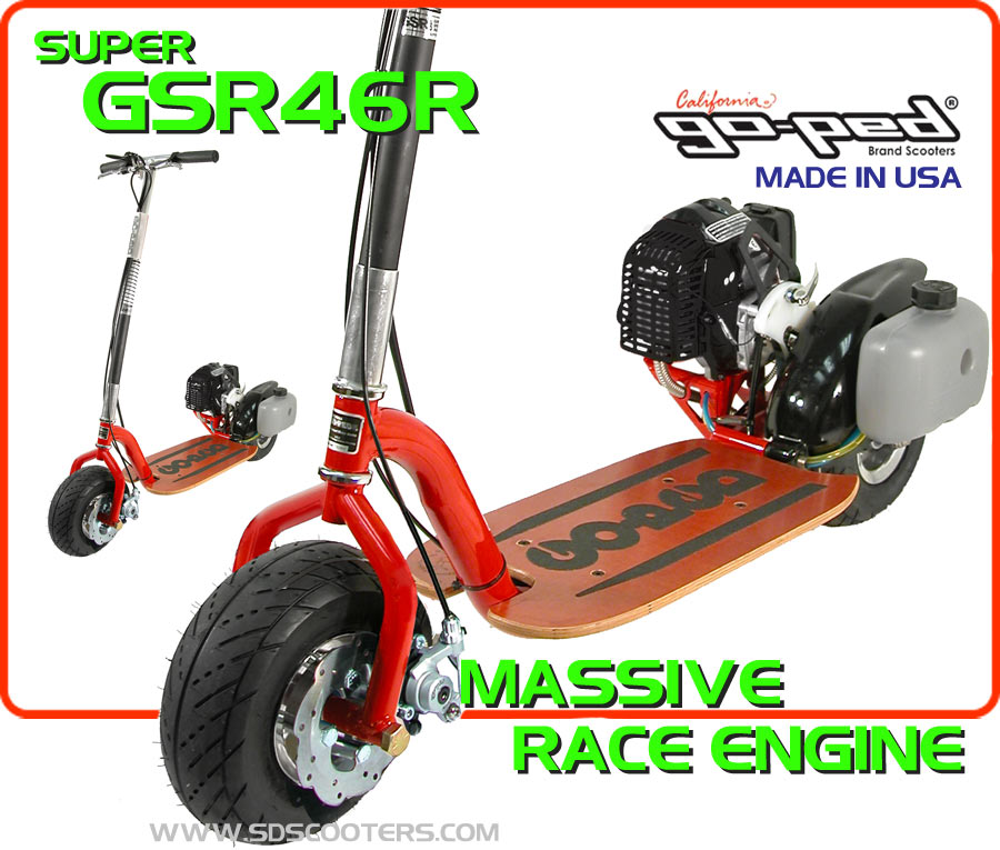 gsr46r Gas Scooter large