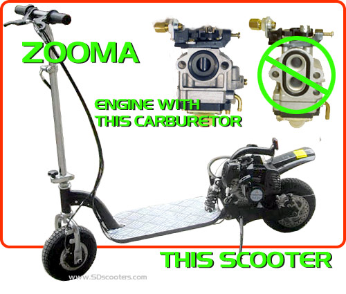 Zooma Electric Scooter Wiring Diagram : Zooma parts scooter mods gas